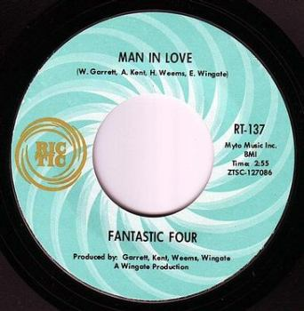 FANTASTIC FOUR - MAN IN LOVE - RIC TIC 137