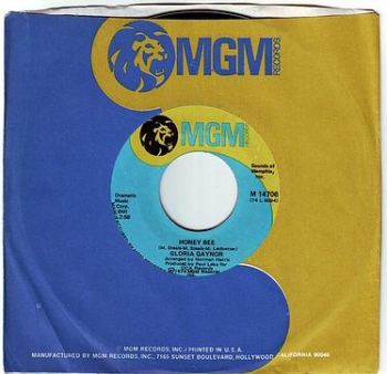 GLORIA GAYNOR - HONEY BEE - MGM