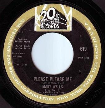 MARY WELLS - PLEASE PLEASE ME - 20TH CENTURY
