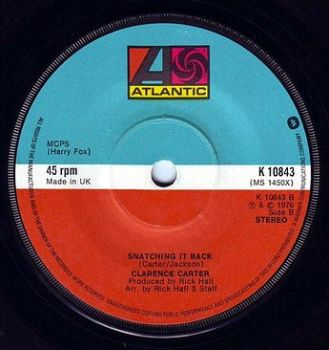 CLARENCE CARTER - SNATCHING IT BACK - ATLANTIC