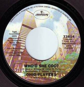 OHIO PLAYERS - WHO'D SHE COO - MERCURY