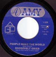 ROOSEVELT GRIER - PEOPLE MAKE THE WORLD - AMY