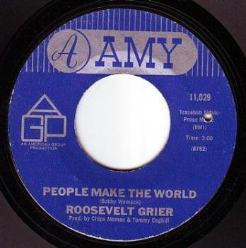 ROOSEVELT GRIER - PEOPLE MAKE THE WORLD - AMY
