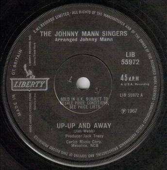 JOHNNY MANN SINGERS - UP-UP AND AWAY - LIBERTY