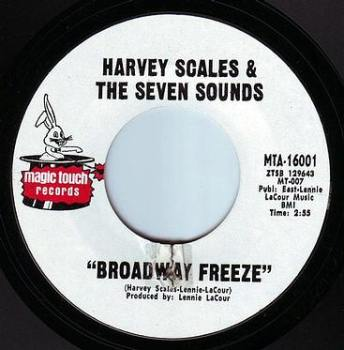 HARVEY SCALES - I CAN'T CRY NO MORE - MAGIC TOUCH