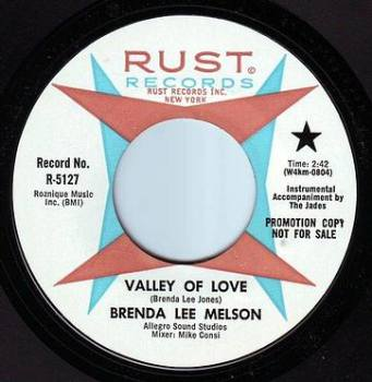 BRENDA LEE MELSON - VALLEY OF LOVE - RUST DEMO