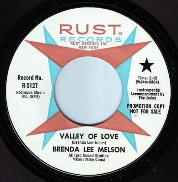 BRENDA LEE MELSON - VALLEY OF LOVE - RUST DEMO