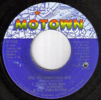 DIANA ROSS & SUPREMES & TEMPTATIONS - I'LL TRY SOMETHING NEW - MOTOWN