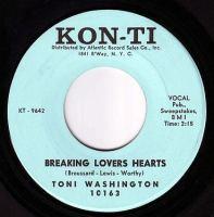 TONI WASHINGTON - BREAKING LOVERS HEARTS - KON-TI