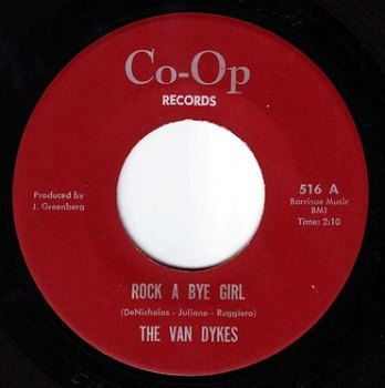 VAN DYKES - ROCK A BYE GIRL - CO-OP