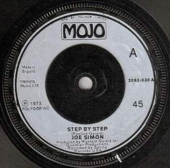 JOE SIMON - STEP BY STEP - MOJO