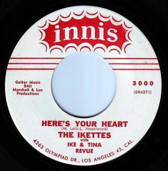 IKETTES - HERE'S YOUR HEART - INNIS