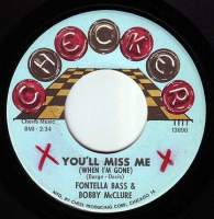 FONTELLA BASS & BOBBY McCLURE - YOU'LL MISS ME (WHEN I'M GONE) - CHECKER