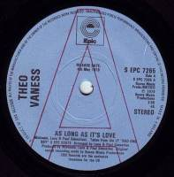 THEO VANESS - AS LONG AS IT'S LOVE - EPIC DEMO