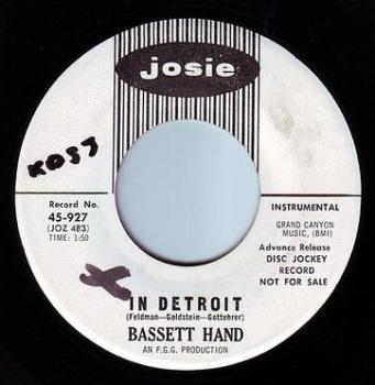 BASSETT HAND - IN DETROIT - JOSIE DEMO