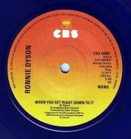 RONNIE DYSON - WHEN YOU GET RIGHT DOWN TO IT - CBS