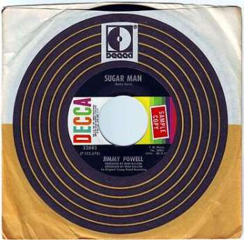 JIMMY POWELL - SUGAR MAN - DECCA DEMO