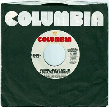 LONNIE LISTON SMITH - A SONG FOR THE CHILDREN - COLUMBIA DEMO