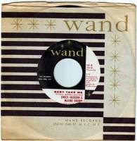 CHUCK JACKSON & MAXINE BROWN - BABY TAKE ME - WAND