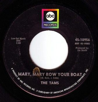 TAMS - MARY, MARY ROW YOUR BOAT - ABC