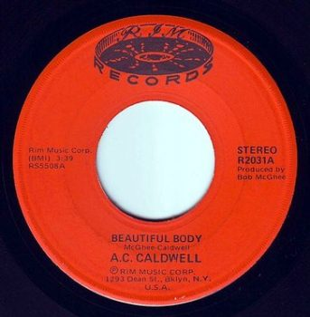 A.C. CALDWELL - BEAUTIFUL BODY - RIM