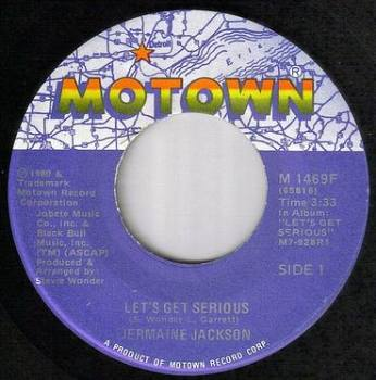 JERMAINE JACKSON - LET'S GET SERIOUS - MOTOWN