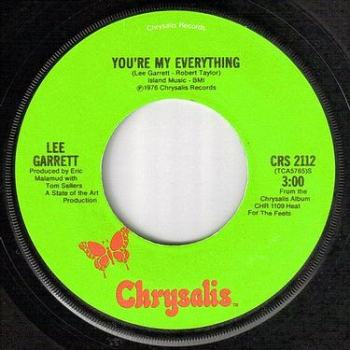 LEE GARRETT - YOU'RE MY EVERYTHING - CHRYSALIS