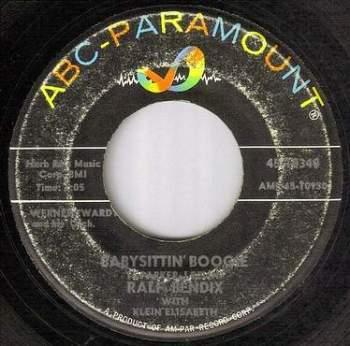 RALF BENDIX - BABYSITTIN' BOOGIE - ABC