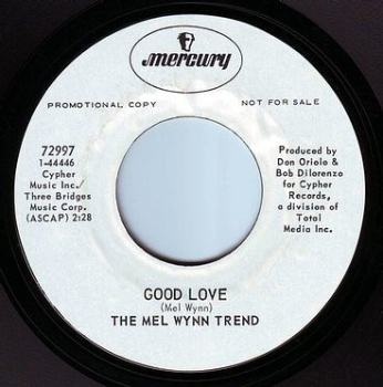 MEL WYNN TREND - GOOD LOVE - MERCURY DEMO