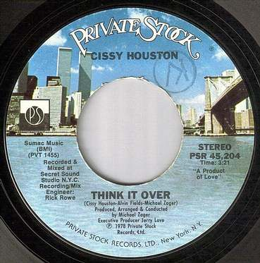 CISSY HOUSTON - THINK IT OVER - PRIVATE STOCK