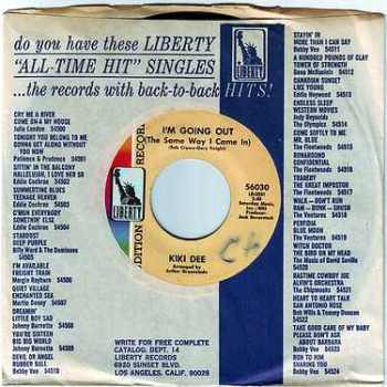 KIKI DEE - I'M GOING OUT (The Same Way I Came In) - LIBERTY DEMO