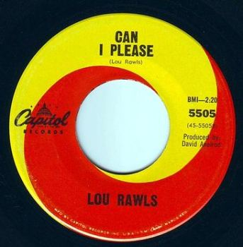 LOU RAWLS - CAN I PLEASE - CAPITOL