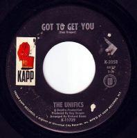 UNIFICS - GOT TO GET YOU - KAPP