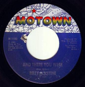 BILLY ECKSTINE - AND THERE YOU WERE - MOTOWN