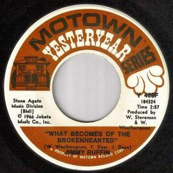 JIMMY RUFFIN - WHAT BECOMES OF THE BROKENHEARTED - MOTOWN YY