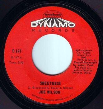 JOE WILSON - SWEETNESS - DYNAMO