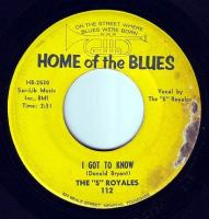 5 ROYALES - I GOT TO KNOW - HOME OF THE BLUES