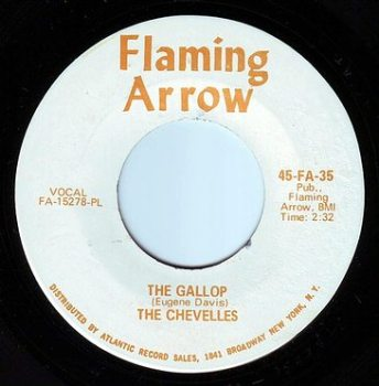 CHEVELLES - THE GALLOP - FLAMING ARROW