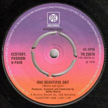 ECSTACY, PASSION & PAIN - ONE BEAUTIFUL DAY - PYE