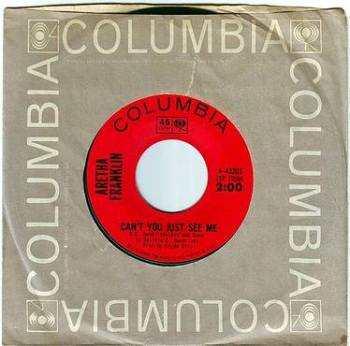 ARETHA FRANKLIN - CAN'T YOU JUST SEE ME - COLUMBIA