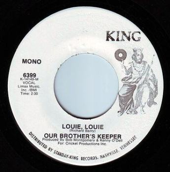 OUR BROTHERS KEEPER - LOUIE, LOUIE - KING DEMO