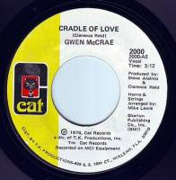 GWEN McCRAE - CRADLE OF LOVE - CAT
