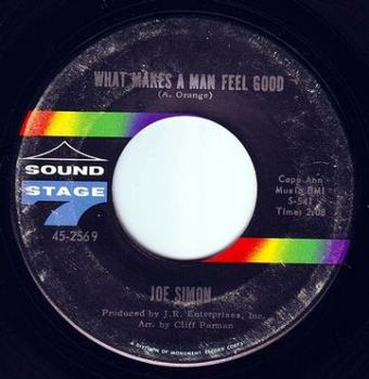 JOE SIMON - WHAT MAKES A MAN FEEL GOOD - SS7