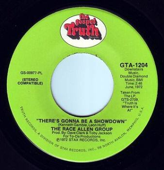 RANCE ALLEN GROUP - THERE'S GONNA BE A SHOWDOWN - TRUTH