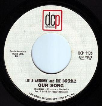 LITTLE ANTHONY & THE IMPERIALS - OUR SONG - DCP