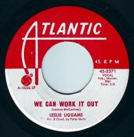 LESLIE UGGAMS - WE CAN WORK IT OUT - ATLANTIC DEMO