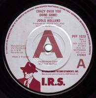 JOOLS HOLLAND - CRAZY OVER YOU (DONE GONE) - IRS DEMO