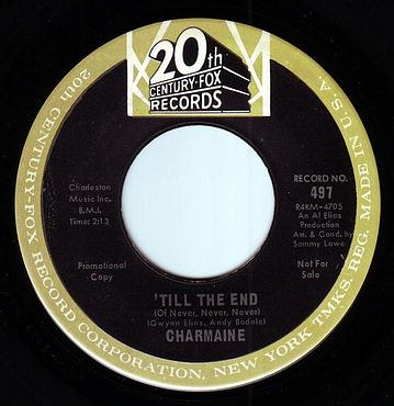 CHARMAINE - TILL THE END (of never, never, never) - 20TH CENTURY FOX DEMO