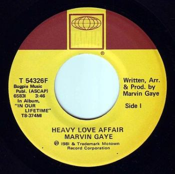 MARVIN GAYE - HEAVY LOVE AFFAIR - TAMLA