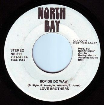 LOVE BROTHERS - BOP DE DO WAW - NORTH BAY DEMO